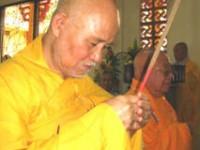 Thông Điệp Phật Đản 2558 của Đức Tăng Thống Thích Quảng Độ, và Thông Bạch Đại lễ Phật Đản Phật lịch 2558 của Viện trưởng Viện Hoá Đạo, Đại lão Hoà thượng Thích Như Đạt