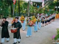 Tường trình Đại lễ Phật Đản Phật lịch 2558 tại trụ sở Viện Hoá Đạo ở Tu viện Long Quang, Thừa thiên Huế