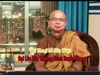 VBS/TV- Hội Thoại Lễ Húy Nhật Thích Huyền Quang Với TT Thích Giác Đẵng – Phần 1