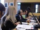 Bà Ỷ Lan và ông Võ Văn Ái tại khoá họp lần thứ 53 của Uỷ ban LHQ về các Quyền Kinh tế, Xã hội và Văn hoá diễn ra từ ngày 10 đến 28-11.2014 tại Genève (Photo courtesy of queme.net)