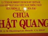 Đại lão Hoà thượng Thích Như Đạt, Viện trưởng Viện Hoá Đạo, gửi Thư Cảm Tạ và Tán Dương Văn Phòng II Viện Hoá Đạo nhân Lễ Nhập tự Chùa Phật Quang tại Nam California, Hoa Kỳ