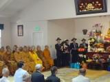 Lễ Chung thất Cố Hoà thượng Viện trưởng Viện Hoá Đạo tại chùa Phật Quang, Huntington Beach, Nam California, Hoa Kỳ, hôm 19-4-2015