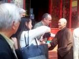 Une délégation du Congrès américain rend visite au Patriarche-dissident bouddhiste Thich Quang Do au Vietnam