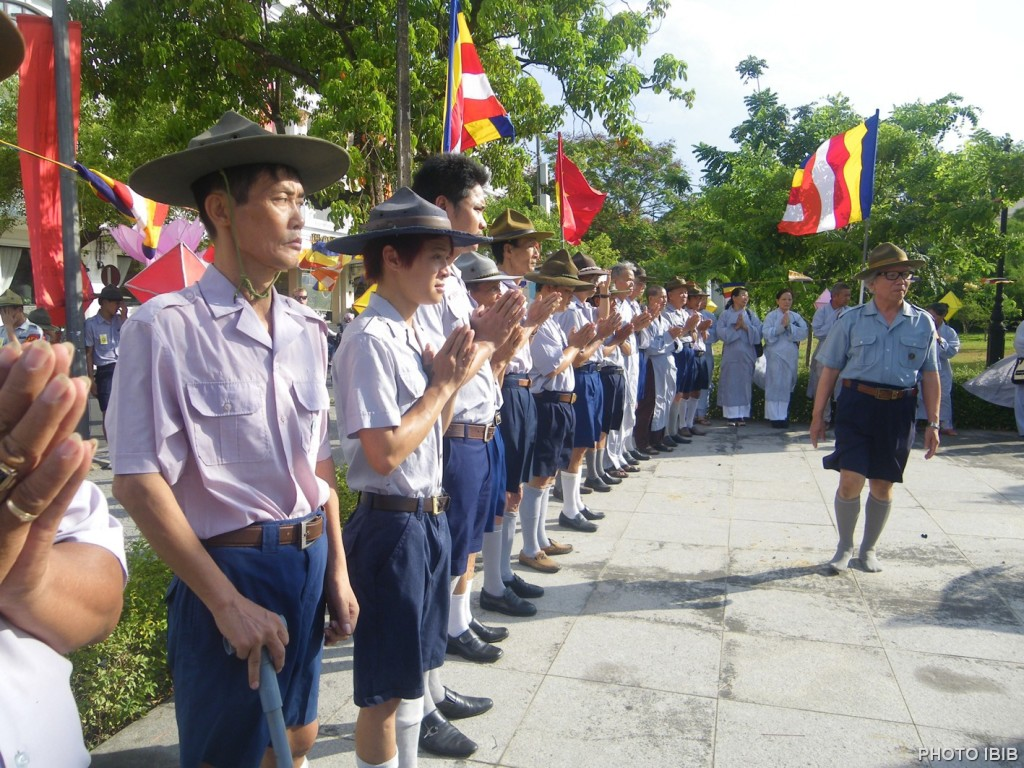 Gia Đình Phật tử Việt Nam tại Tượng đài