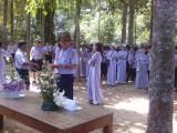 Sinh hoạt trong Ngày Hạnh của Gia Đình Phật tử Việt Nam tại Tu viện Long Quang, Huế