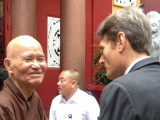 US Assistant Secretary of State Tom Malinowski visits detained Buddhist Patriarch Thich Quang Do