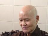 Đức Tăng Thống chụp tại Thanh Minh Thiền Viện lúc Ngài trả lời phỏng vấn Đài Phật giáo Việt Nam