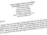 Văn phòng Luật sư The Tammy Tran Law Firm can thiệp với TT Giác Đẳng và ông Steven Điêu để giải quuyết vấn đề bàn giao sổ sách Giáo hội và vụ Chùa Phật Quang