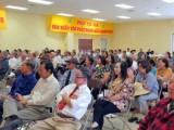 Hội trường Chùa Từ Bi : Đồng bào các giới và đồng bào Phật tử theo dõi cuộc Hội luận