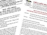 Đoàn Cựu Huynh trưởng và Đoàn sinh Gia Đình Phật tử vùng Pomona và vùng Phụ cận & Phật tử chùa Liên Hoa minh định lập trường hậu thuẫn Đức Tăng Thống và Hội đồng Lưỡng Viện GHPGVNTN
