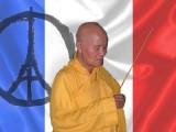 Thich Quang Do présente les condoléances des Bouddhistes vietnamiens au Président François Hollande et au peuple français