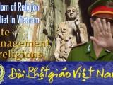 Đức Tăng Thống nói về Pháp nạn Cộng sản — Cơ sở Quê Mẹ tham dự Diễn Đàn Tự do Tôn giáo vùng Á Châu tại Đài Loan
