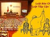 Quyền Tự do Ngôn luận và Quyền được Biết bị thắt chặt thêm với sự phê chuẩn của Quốc hội về Luật Báo chí sửa đổi và Luật được Thông tin