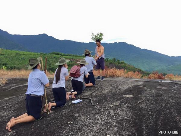 Trại sơ cấp Lộc Uyển, Huyện Phú Lộc, Trên đường tầm Đạo