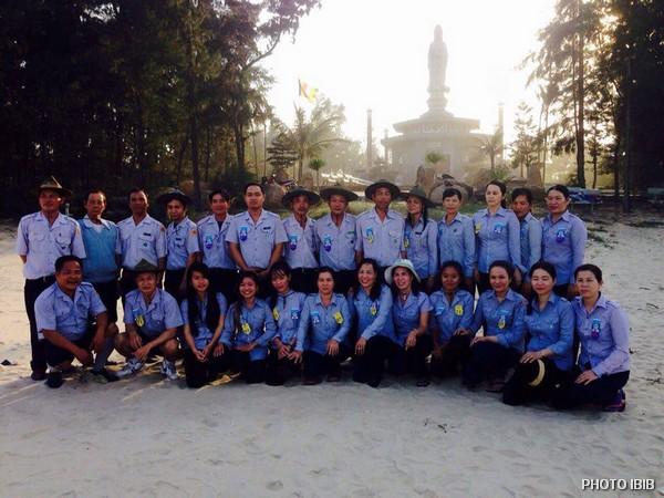 Hình lưu niệm Liên Trại Lộc Uyển và A Dục, Huyện Phú Vang, Huế