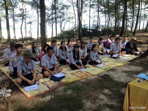 Liên Trại Lộc Uyển và A Dục, Huyện Phú Vang, Lớp học trong rừng