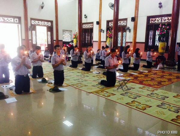 Lễ Phát Nguyện tại Niệm Phật đường An Bằng