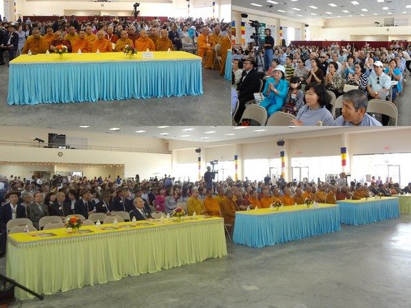 Hội trường Chùa Liên Hoa ngày Phật Đản