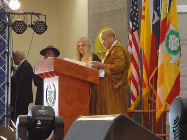 TT Thích Trí Quảng, Trưởng ban Tổ chức, đọc Diễn văn khai mạc