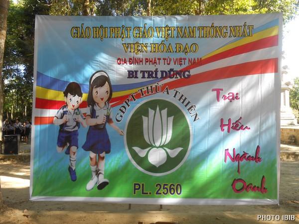 Trại Hiếu ngành Oanh Gia Đình Phật tử Thừa Thiên