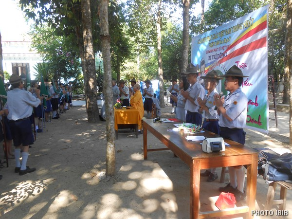 Htr Nguyễn Văn Đê giới thiệu Ban Quản Trại