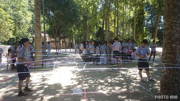 Các Trại sinh tham gia Trò chơi lớn
