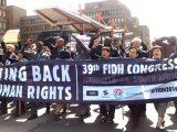 Tại Hội nghị lần thư 39 ở Johannesburg, Nam Phi, Liên Đoàn Quốc tế Nhân quyền tố cáo những vi phạm nhân quyền quy mô tại Việt Nam