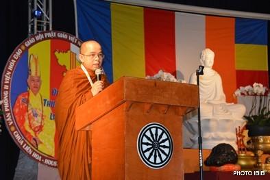 TT Thích Trí Tịnh, Trưởng ban Tổ chức đọc Diễn văn khai mạc