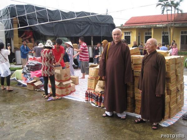 Cứu trợ tại Huyện Gio Linh,Tỉnh Quảng Trị