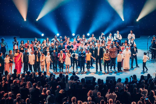 Chương trình Văn nghệ múa hát tại Lễ Kỷ niệm