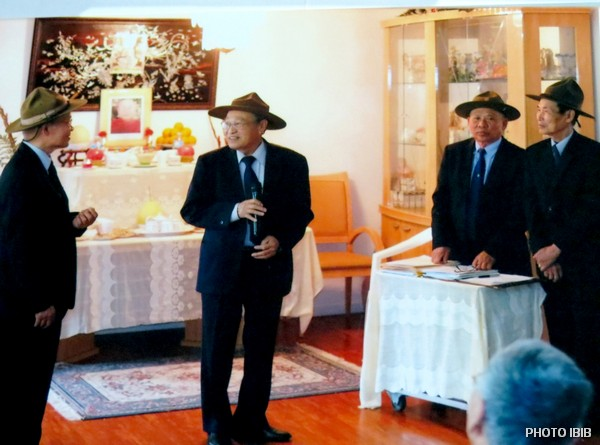 Các Cựu Huynh trưởng chuẩn bị lễ Huý Nhật lần thứ 4 của Ngài