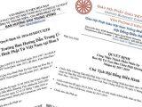 Quyết định công nhận thành phần nhân sự Ban Hướng dẫn Miền Khuông Việt nhiệm kỳ 2016-2020 — Quyết định công nhận thành phần nhân sự Ban Hộ trị Tam Bảo chùa Phật Quang nhiệm kỳ 2017-2019