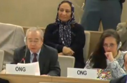 M. Võ Văn Ái s'exprimant aujourd'hui devant le Conseil des Droits de l'Homme