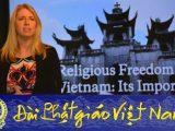 Cần đưa Việt Nam trở lại Danh sách CPC : Phỏng vấn bà Tina Mufford