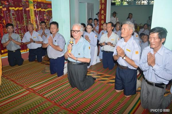 Cư sĩ Nguyên Chánh Lê Công Cầu, Tổng Thư ký VHĐ phúc trình Phật sự Giáo hội