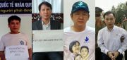 Four human rights defenders arrested for subversion in an escalating crackdown on dissent in Vietnam