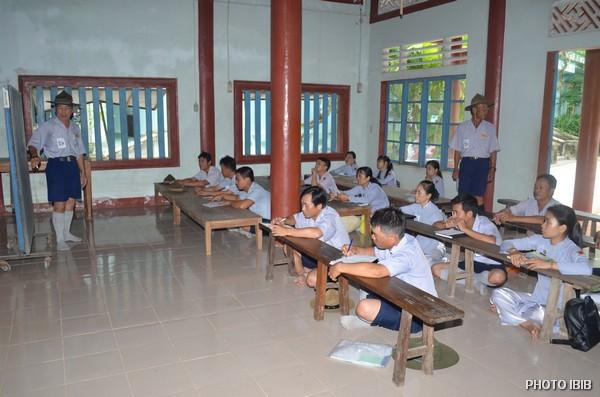 Các lớp học tại Đất Trại