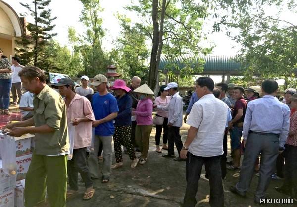 Cứu trợ tại Xã Thanh Mai, Huyện Thanh Chương,Tỉnh Nghệ An