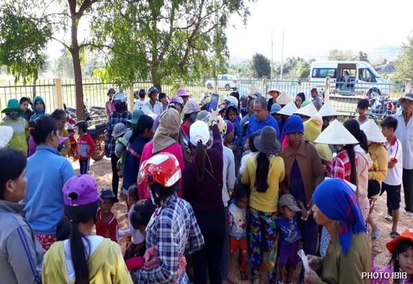 Cứu trợ tại Xã Thuận Hòa, Huyện Hàm Thuận Bắc, Tỉnh Bình Thuận