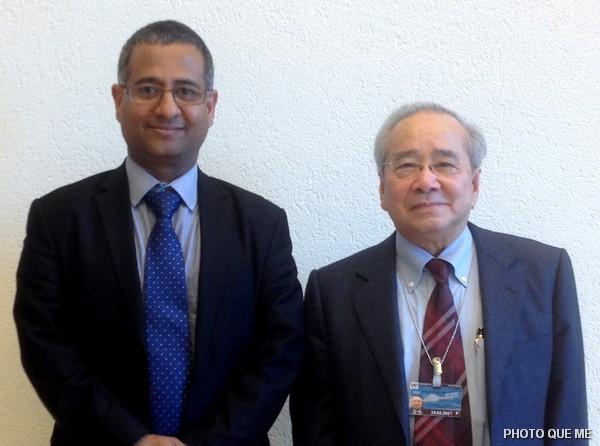 Ông Võ Văn Ái tiếp xúc Báo cáo viên Đặc biệt LHQ về Tự do Tôn giáo Ahmed Shaheed
