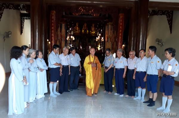 HT Thích Chí Viên ban Đạo từ khai Khoá Huyền Trang tại Chùa Linh Phong, Nhatrang