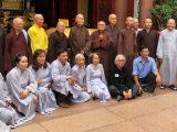 Tân Ban Chỉ đạo Viện Hoá Đạo GHPGVNTN bái yết Đức Tăng Thống Thích Quảng Độ tại Thanh Minh Thiền Viện