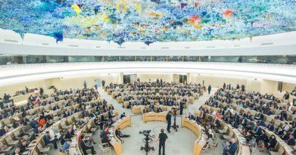Ông Võ Văn Ái, Chủ tịch VCHR, tố cáo trước LHQ sự kiện Việt Nam khước từ những khuyến cáo nghiêm trọng của thế giới nhân kỳ Kiểm điểm UPR