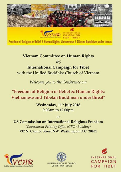 Last Message from Buddhist Patriarch Thích Quảng Độ on religious freedom, democracy and human rights